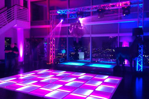 Portable Lighted Dance Floor : Upstage led dance floors walls tunnels